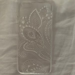 Accessories - Clear mandala iPhone 6/6s case